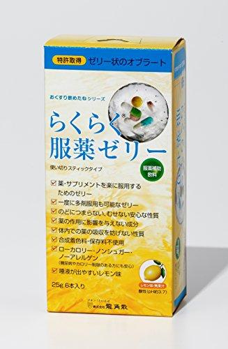 龍角散 らくらく服薬ゼリーレモン スティックタイプ 25g×6包