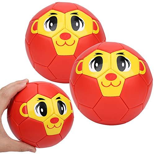 2 Stück PVC Mini Fußball, Fußball Größe 2 für Kinder Stress Leichte Fußballtrainingsgeräte