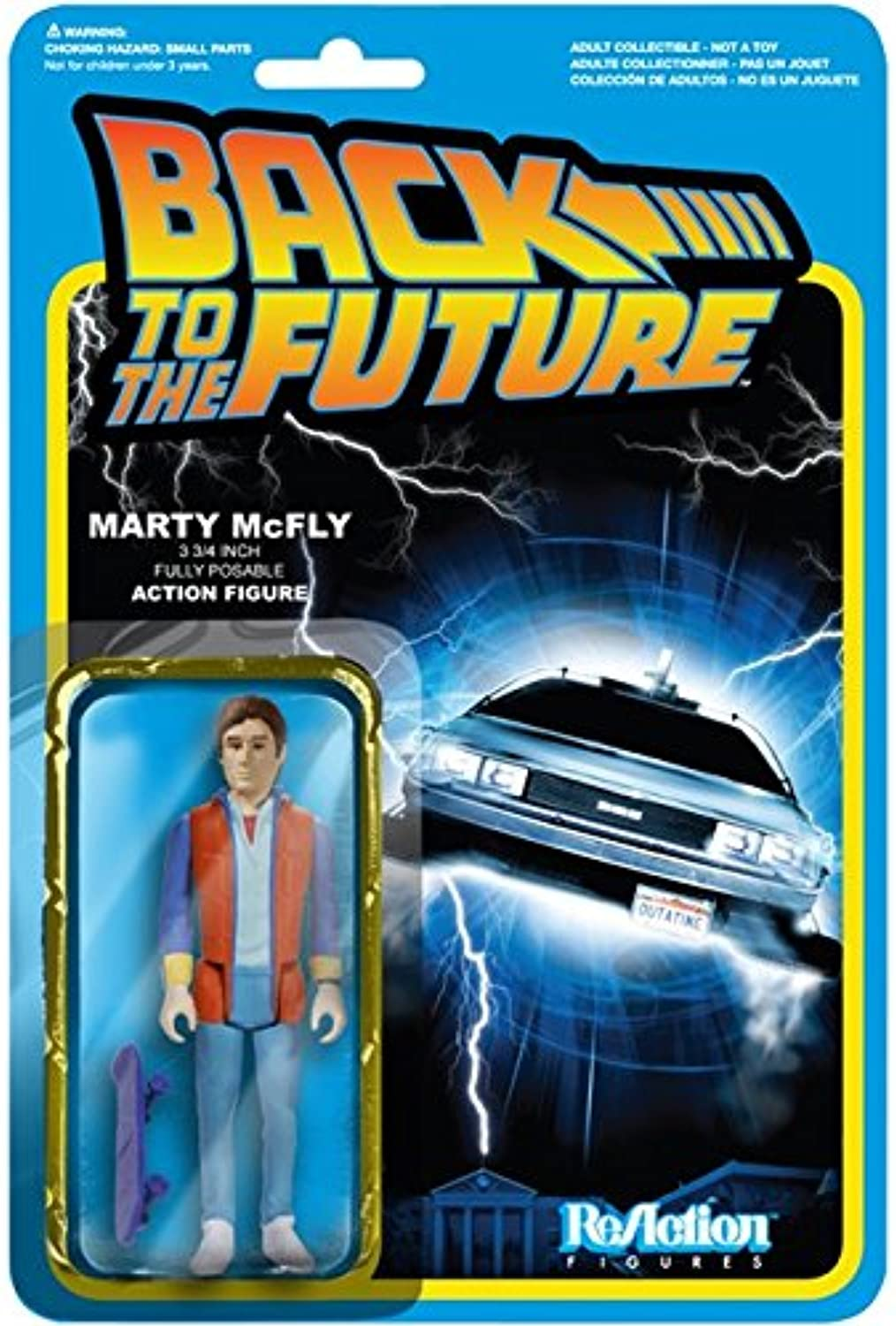 [Reaction] 3.75 inches Action Figure  Back to the Future  series 1 Marty McFly