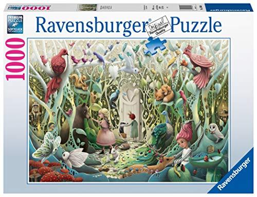 Ravensburger Puzzle 1000 Pezzi, Il Giardino Segreto, Collezione Fantasy, Puzzle Animali, Puzzle per Adulti, Puzzle Ravensburger, Stampa di Ottima Qualità