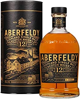 Aberfeldy 12 ans, Single Malt Whisky 70cl, 40%, Whisky d'Ecosse
