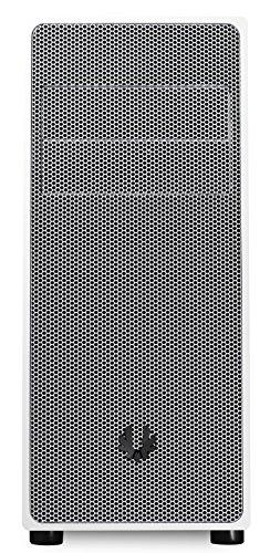 BitFenix Neos Midi-Tower Plata, Color Blanco Carcasa de Ordenador - Caja de Ordenador (Midi-Tower, PC, De plástico, Acero, ATX,Micro-ATX,Mini-ATX, Plata, Blanco, Fondo)