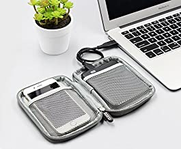 Beststar Universal Electronics Accessories Organizer, Single Layer Travel Gadget Bag for Cables, USB Hard Drive, Cellphone, iPad Mini and More,Lightweight and Compact#81160 (Grey)