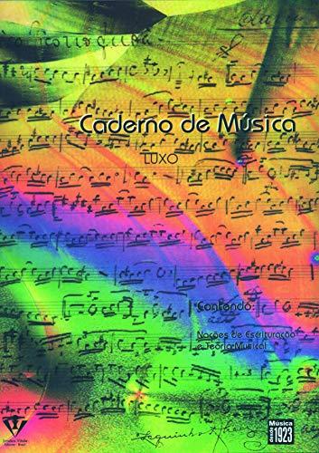 Caderno de música - 12 pautas