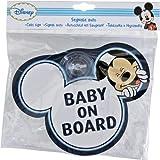 Disney Segnale Auto 'Baby On Board' Topolino