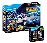 PLAYMOBIL Back to The Future 70317 Delorean + 70459 Marty McFly y Dr. E