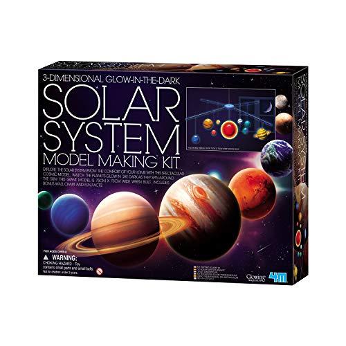 """4M """"Solar System Mobile 3D Making Kit (Multi-Colour)"""