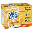WET ONES Singles Tropical SPALSH 24CT Pack of 1