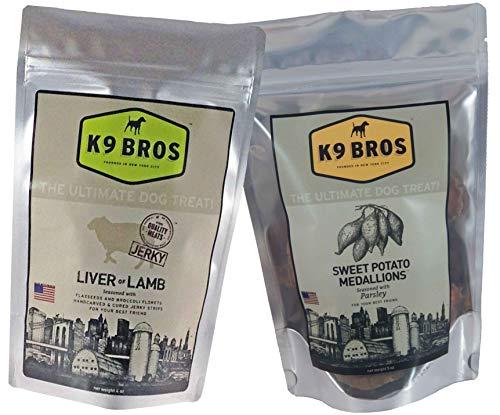 K9 Bros Two Pack - Liver of Lamb & Sweet Potato Medallions