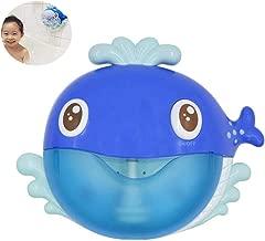 Volwco Baby Bubble Bath, Whale Bubble Machine, Baby Bath Toys, Automatic Bubble Maker Baby Bubble Bath Toys, Musical Bubble Blower, Interactive 12 Nursery Rhymes Bubble Bathtub Toys Happy Tub Time