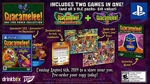 Guacamelee!: One-Two Punch - PlayStation 4 - Standard Edition