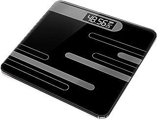 Báscula de Peso Profesional Báscula de baño Básculas Antideslizantes Básculas Báscula Digital electrónica para el hogar Pantalla LCD Duradera (Color: Battery Cross Pink)