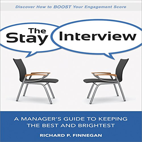 The Stay Interview audiobook cover art