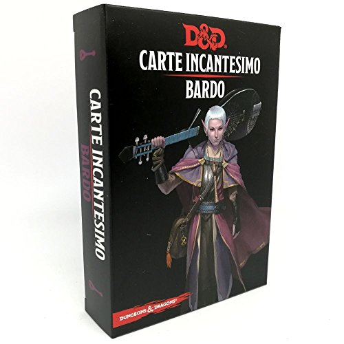 Dungeons and Dragons Carte Incantesimo D&D - Bardo 5ED - Italiano
