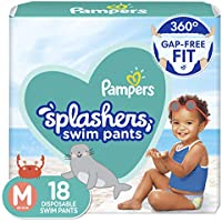 18-Count Pampers Splashers Swim Diapers Size M