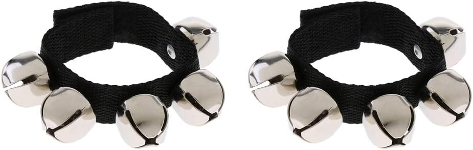 Super beauty product restock quality top Colcolo Best Standing Max 51% OFF Tambourine Doll Bells Be Jingle 2x Metal 5