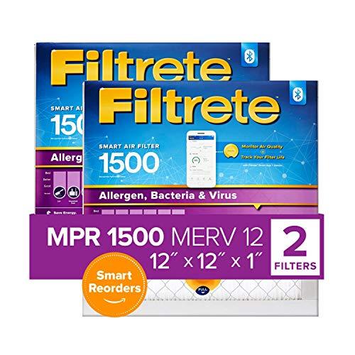 Filtrete 12x12x1, Smart Replenishable AC...