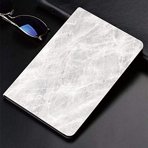 Case for iPad (9.7-Inch, 2018/2017 Model, 6th/5th Generation)Ultra Slim Lightweight Smart Cover,Marble,Abstract Soft Pastel Toned Onyx Stone Background with Grunge Effects,Smart Covers Auto Wake/Sleep