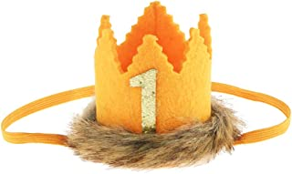 Wild One Baby Crown, Where The Wild Things are Party Supplies Crown for Baby First Birthday Party Decorations