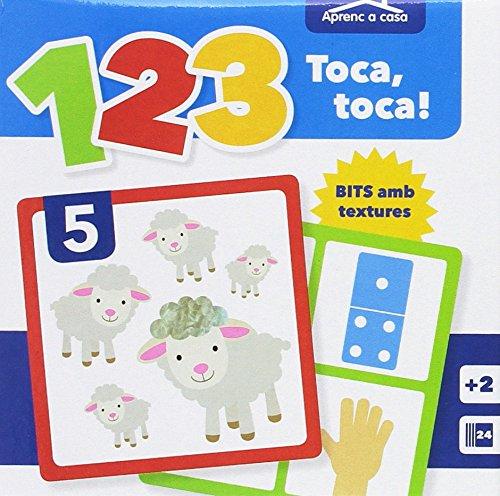 APRENDO EN CASA - BITS CON TEXTURAS - 123: 1, 2, 3 Toca Toca! Aprenc A Casa (APRENDO EN CASA CARTAS TEXTURAS)