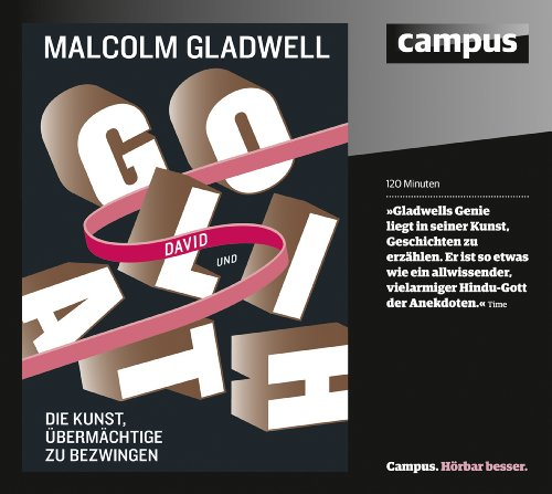 David und Goliath     Die Kunst, Übermächtige zu bezwingen              By:                                                                                                                                 Malcolm Gladwell                               Narrated by:                                                                                                                                 Jan Reinartz,                                                                                        Michael Deckner,                                                                                        Helmut Winkelmann                      Length: 2 hrs     Not rated yet     Overall 0.0