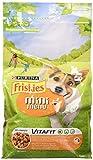Friskies Vitafit Mini Menu Crocchette per Cani fino a 10 kg, con Pollo e Verdure Aggiunte, 1.5 kg