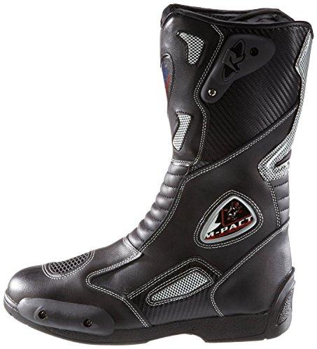 Protectwear SB-03203-44 Motorradstiefel, Allroundstiefel, Sportstiefel aus Leder, Größe 44, Schwarz - 5