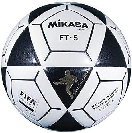 2 PACK Mikasa FT5 Goal Master Soccer Ball Footvolley Ball Black//Yellow