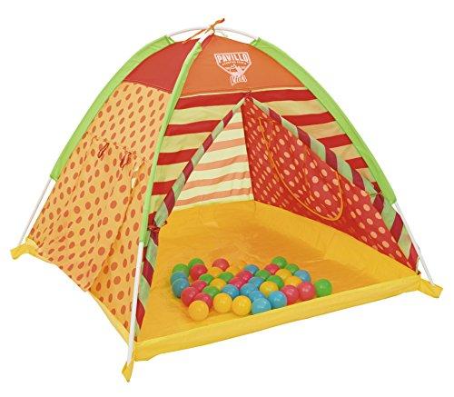 Bestway Kids Pit Ball & Play Land 112 x 112 x 90, Multi-Colour, 68080