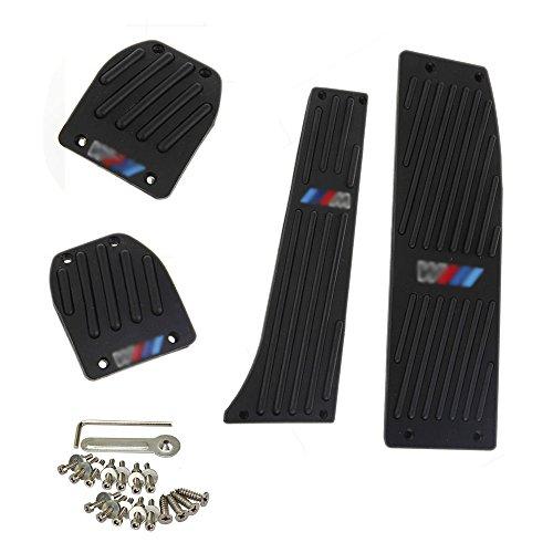 4pcs/Set Schwarz MT Fußstütze Pedale Pedal Set