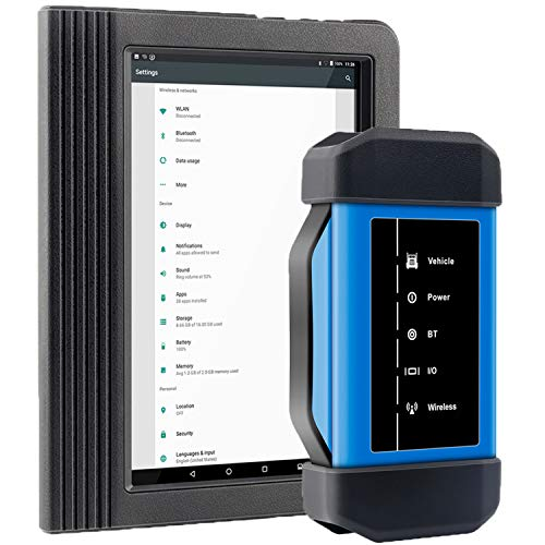 LAUNCH X431 V+ OBD2 Scanner for Heavy Duty Diesel Truck ABS SRS TPMS DPF Regen Diagnostic Scan Tool with Android Tablet
