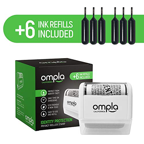 [2020 Updated] Ompla Identity Theft Data Protection Roller...