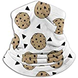 Benson Masefield Cookies Food Chocolate Chip Kekse Adult Neck Headwear Stirnband Magic Scarf Nahtlose Bandanas Weihnachten Fleece Neck Warmer