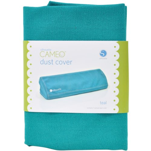 Silhouette Cover-CAM-Tea Dessous de Verre, Toile, Turquoise