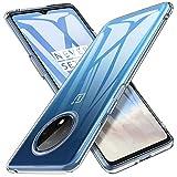 iBetter für Oneplus 7T Hülle, Soft TPU Ultra Thin Cover Handyhülle Stoßfest [Anti-Scratch] [Slim-Fit] Shock Absorption Hülle passt für Oneplus 7T Smartphone, klar
