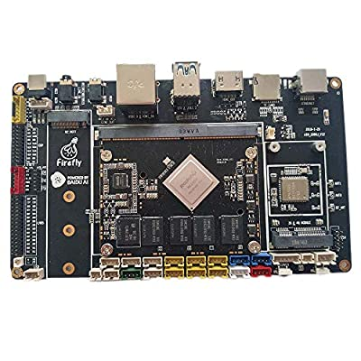 Firefly AIO-3399J Development Board with 4GB DDR and 16GB eMMC Based on The RK3399 six-core chip Platform, Dual core Cortex-A72 & Quad core Cortex-A53, Support Android 7.1, Linux and HDMI in.