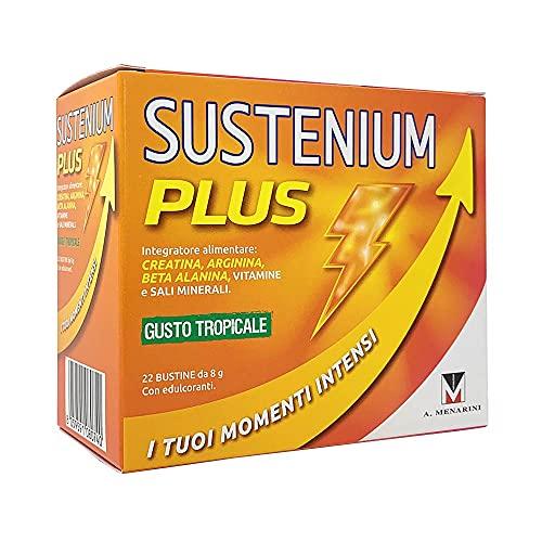 Sustenium Plus Integratore Alimentare Gusto Tropicale, 22 Bustine