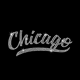 Chicago Iron-on Rhinestone Transfers for T-Shirts by JCS Rhinestones