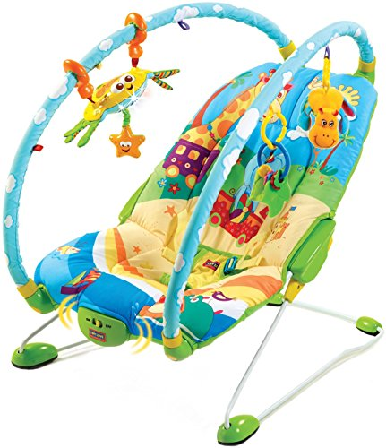 Tiny Love Gymini Bouncer Chair with Music, Newborn Baby Bouncer with...