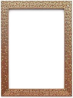 Memory Box Bronce Bling – Marco Plano Claro/Efecto Espejo/Mosaico para Fotos/pósteres – El tamaño del Marco es de 28 mm de Ancho y 16 mm de Profundidad – 7 x 5 Pulgadas – con Cristal Real