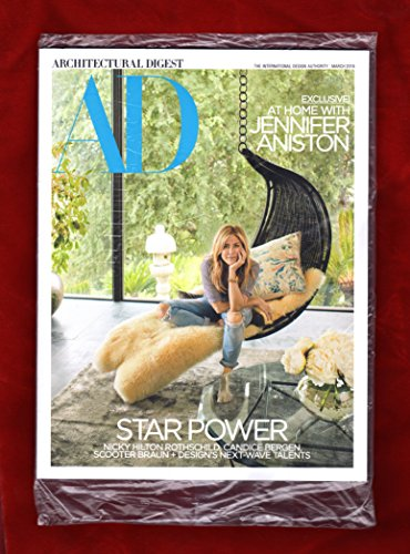Architectural Digest March 2018 At Home With Jennifer Aniston