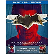 Batman v Superman: Dawn of Justice, Ultimate Edition, Reversible Steelbook