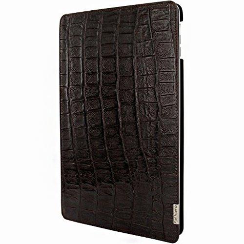 """Piel Frama 696COSM """"FramaSlim"""" Custodia in pelle per Apple iPad Air, motivo: coccodrillo selvatico, colore: marrone"""
