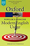 Fowler's Concise Dictionary of Modern English Usage (Oxford Quick Reference)