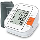 Blood Pressure Monitor, 2020 Upgraded Automatic Upper Arm Digital BP Machine/Pulse Rate Monitoring Meter