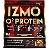 アルプロン IZMO イズモ O2プロテイン チョコ風味 1kg 生きた乳酸菌BC-30配合