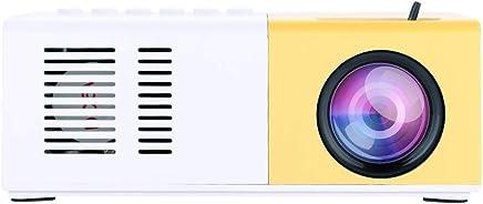 garsent Mini proyector, 1500 lúmenes Proyector de Video portátil LED Compatible HD 1080P HDMI USB VGA AV SD Proyector de Cine Compatible con iPhone iPad Smartphone TV Xbox PC.(EU)