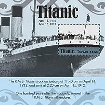 Tuvalu Titanic 100th Anniversary Souvenir Sheet Mint NH Stamp TUV1203SS