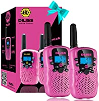 DILISS Kids Talks Toy for 3-12 Year Old Boys Girls Best Gift, 3 Miles Long Range for Outdoor Camping Game