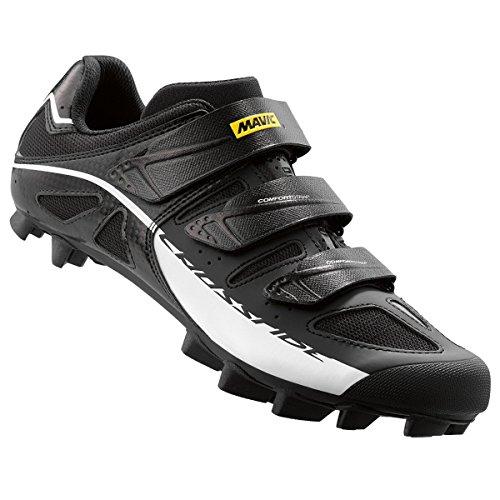 Mavic Crossride SL para Bicicleta de montaña de la Hombres Zapatos, Hombre, L3788260011, Negro/Blanco, Talla: 11